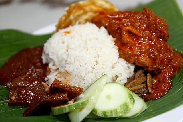 malajský pokrm