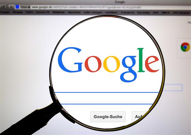 zvětšený google