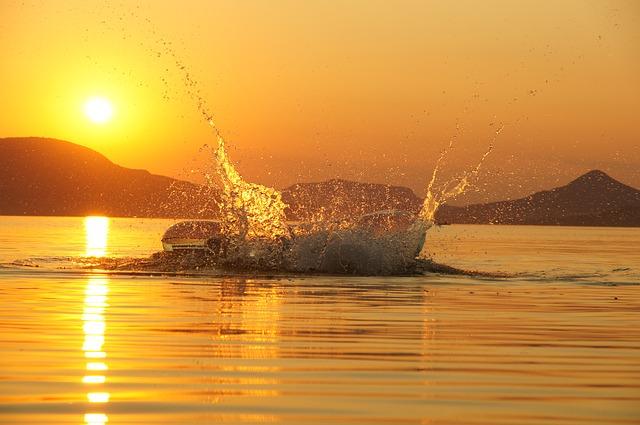 pád do vody