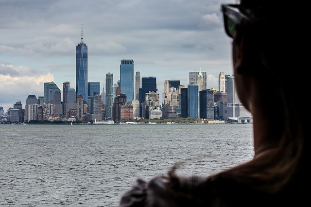 pohled na new york city