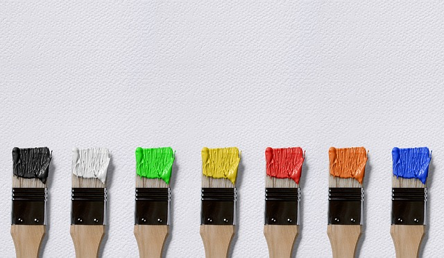 štětky barvy