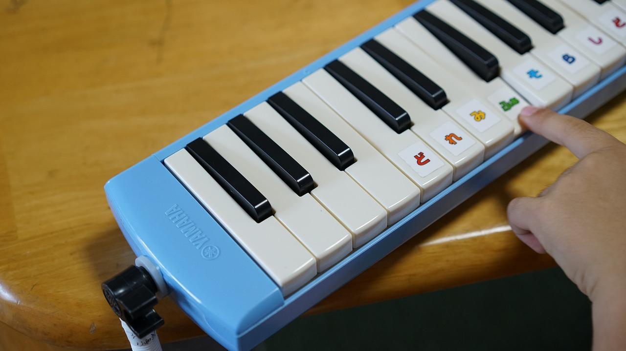 klávesy dětské